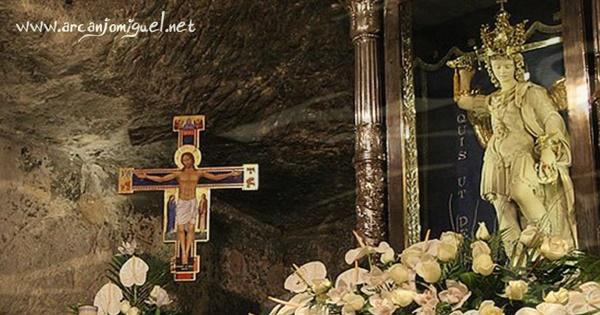 Aparição De São Miguel Arcanjo No Monte Gargano Na Itália Arcanjomiguel Net